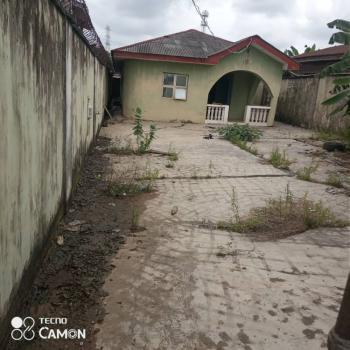 Solid 4 Bedroom Bungalow Facing Tarred Road, Ait Road, Alagbado, Ifako-ijaiye, Lagos, Detached Bungalow for Sale