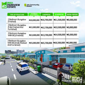 3 Bedroom+ Bq, Ido Eruwa Mkh Parkview Estate, Ibadan, Oyo, Detached Bungalow for Sale