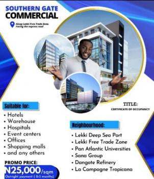 Plots of Land with C of O in a Beautiful Location, Directly Facing The Lekki Trade Free Zone, Osoroko, Ibeju Lekki, Lagos, Commercial Land for Sale