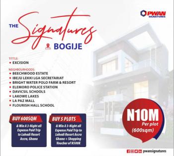 Signatures (excision), Around Dangote Refinery, Bogije, Ibeju Lekki, Lagos, Mixed-use Land for Sale