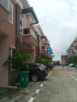 Fully Service 4 Bedroom Terrace Duplex with 24hrs Light, Chevron Drive, Lekki Phase 2, Lekki, Lagos, Terraced Duplex for Rent