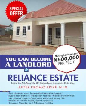 Why Pay More When You Can Buy for Half The Price in Secure Environment, Along The Asaba Benin Expressway Behind The Enu Ani Mega City, Asaba, Delta, Mixed-use Land for Sale