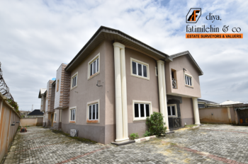 5 Bedroom Duplex with One Bq Available, Greenland Estate Phase 2, Ogombo, Ajah, Lagos, House for Rent