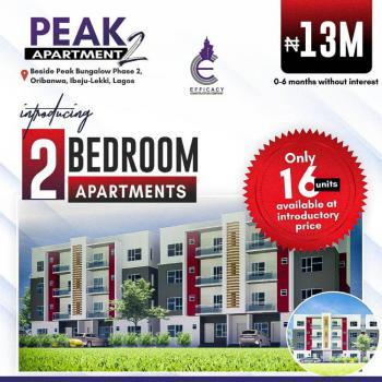 2bedroom Luxury Apartment with Payment Plans, Peak Apartments, Oribanwa, Ibeju Lekki, Lagos, Block of Flats for Sale