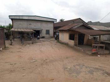 Functional Warehouse on 3 Plots of Land, Oyigbo, Rivers, Warehouse for Sale