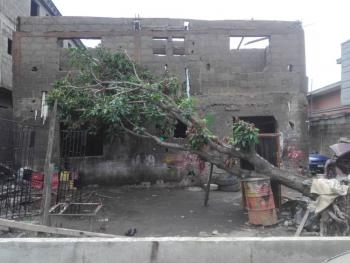 an Uncompleted Story Building on 555.46sqm, Akoka, Yaba, Lagos, House for Sale