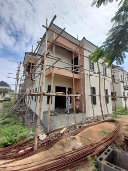 5 Bedroom Fully Detached Duplex ( Carcass Or Shell ), Sapphire Garden, Awoyaya, Ibeju Lekki, Lagos, Detached Duplex for Sale