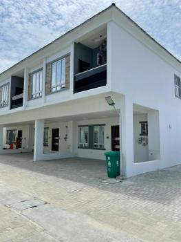 Serviced 3 Bedroom Terrace Duplex with Swimming Pool and Gym, Orchid Private Estate, Lekki, Lagos, Terraced Duplex for Rent
