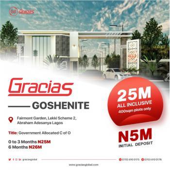 The Most Affordable Land 2 Axis, Goshnite Estate, Lekki Scheme 2, Okun-ajah, Ajah, Lagos, Residential Land for Sale