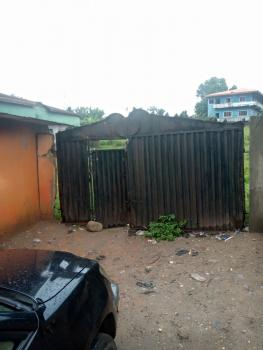 Commercial 4 Plots of Land with 10 Shops Facing a Tarred Road, Okota, Isolo, Lagos, Commercial Land for Sale