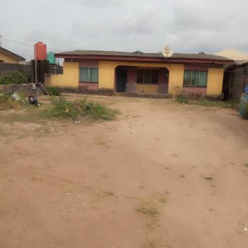 3 Bedroom Setback with Shops on Full Plot of Land, Ajasa Command, Abule Egba, Agege, Lagos, Detached Bungalow for Sale