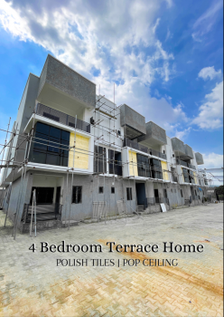 4 Bedroom Terrace Home, Jahi, Abuja, Terraced Duplex for Sale