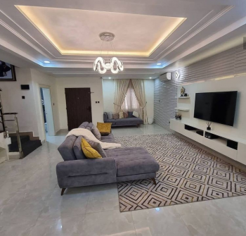4 Bedrooms Furnished Terrace, By Amsco Platinum Estate, Galadimawa, Abuja, Terraced Duplex for Sale