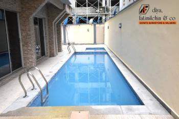 Luxury 3 Bedroom Flat with Excellent Facilities, Lekki Phase One By Right Side, Lekki Phase 1, Lekki, Lagos, Flat / Apartment for Rent