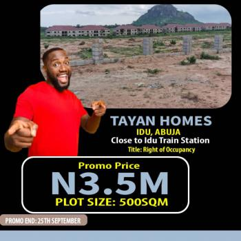 Plot of Land, Tayan Homes, Idu Industrial, Abuja, Residential Land for Sale