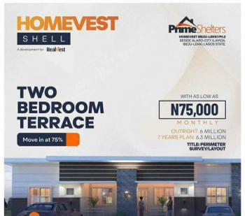 2 Bedroom Apartment, Prime Shelter Estate,beside Alaro City,ilamija, Ibeju Lekki, Lagos, Terraced Bungalow for Sale
