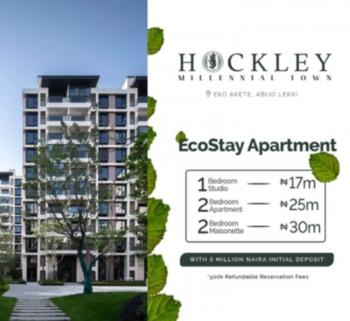 Luxury Studio Apartment, in a Service Estate Facing The Lekki Epe Expressway., Abijo, Lekki, Lagos, Block of Flats for Sale
