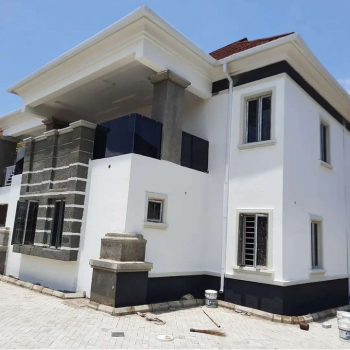 Solidly Built 4 Bedroom Duplex with Bq Available, Green Acres Hospital, Lokogoma District, Abuja, Detached Duplex for Sale