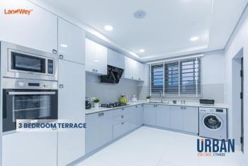 Three Bedroom Terrace, Urban Prime Three, Abraham Adesanya Road, Ogombo, Ajah, Lagos, Flat / Apartment for Sale