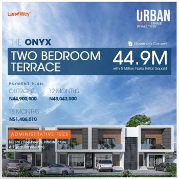 Two Bedroom Terrace, Urban Prime Three, Abraham Adesanya Road, Ogombo, Ajah, Lagos, Flat / Apartment for Sale
