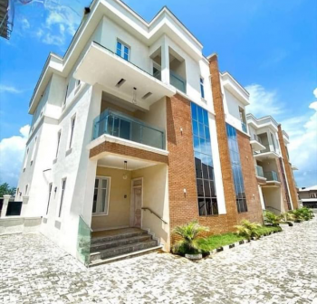 Luxury 5 Bedrooms Terrace Duplex with 2 Living Room, Katampe (main), Katampe, Abuja, Terraced Duplex for Sale