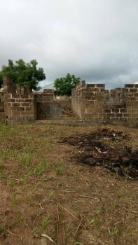 a Plot of Land with an Uncompleted 2 Bedroom Flat. Title : Regd Survey, Baasala Village ,idiya Round About, Abeokuta North, Ogun, Residential Land for Sale