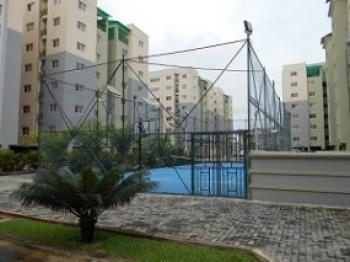 Spacious 3 Bedroom Apartment and a Bq, Prime Water View Estate, Ikate, Lekki, Lagos, Block of Flats for Sale