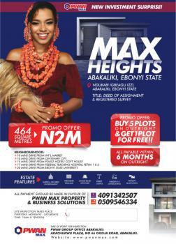 Buy a Plot, Max Height, Abakaliki, Ebonyi, Mixed-use Land for Sale