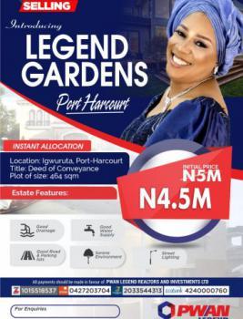 Land, Igwuruta, Legend Gardens, Port Harcourt, Rivers, Mixed-use Land for Sale