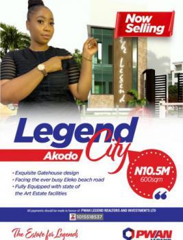 Land, Legend City Estate, Akodo Ise, Ibeju Lekki, Lagos, Mixed-use Land for Sale