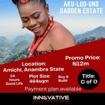 Residential Land, Aku Luo Uno Garden Estate, Amichi, Nnewi South, Anambra, Anambra, Residential Land for Sale