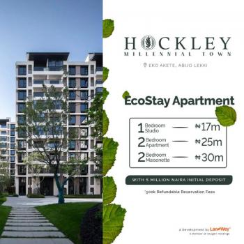 One Bedroom Apartment at The Hockley., Abijo, Lekki, Lagos, Block of Flats for Sale