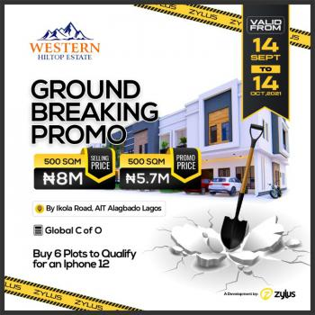 Western Hilltop Estate, Ikola Road, Alagbado, Ifako-ijaiye, Lagos, Mixed-use Land for Sale