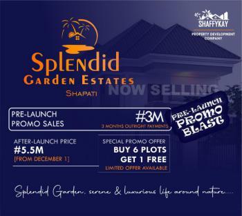 Land, Shapatti, Splendid Garden, Bogije, Ibeju Lekki, Lagos, Mixed-use Land for Sale