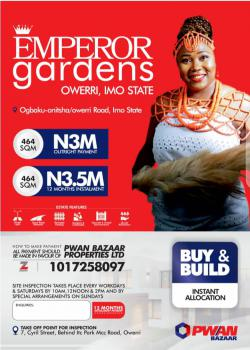Secure a Plot of Land, Emperor Garden, Owerri West, Imo, Mixed-use Land for Sale