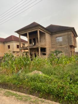 Tasteful 4 Bedroom Duplex Carcass, Sahara Estate, Lokogoma District, Abuja, Detached Duplex for Rent