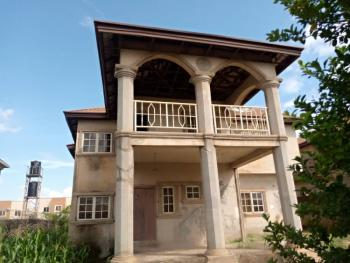 4 Bedroom Detached Duplex Carcass with Massive Space for Bq, an Estate By Urban Shelter, Lokogoma District, Abuja, Detached Duplex for Sale