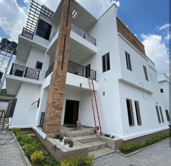 Newly Built 4 Bedrooms Semi Detached  with Bq, Katampe Extension, Katampe, Abuja, Semi-detached Duplex for Sale