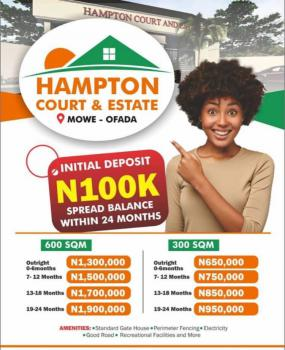 Leveled Dry Land with Perfect Title(c of O), Lagos/ogun Interchange, Mowe Ofada, Ogun, Mixed-use Land for Sale