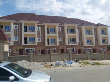 Newly Built 6 Units of 4bedroom Terrace Duplex with 1room Bq, Guzape District, Abuja, Terraced Duplex for Sale