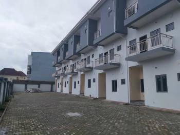 Newly Built Standard  6 Unit of 4bedroom Terrace Duplex with 1room Bq, Guzape District, Abuja, Terraced Duplex for Sale