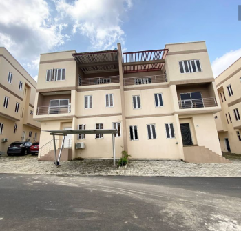 5 Bedrooms Semi Detached with Bq, Zone 5, Wuse, Abuja, Semi-detached Duplex for Sale
