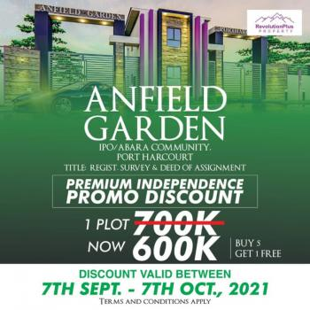 Land, Anfield Garden Ipo/abara Community, Port Harcourt, Rivers, Residential Land for Sale