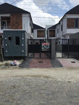 4 Bedroom Duplex with a Room Bq, Osapa, Lekki, Lagos, Semi-detached Duplex for Sale