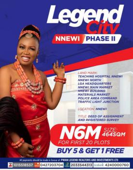 Legend City Plots of Land, Legend City Phase 2, Nnewi, Anambra, Mixed-use Land for Sale