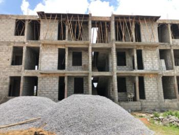Classic 3 Bedrooms Flat (semi Finished/carcass), After Arab Junction, Along Kubwa Expressway, Apdc Capital Estate, Kaba, Abuja, Flat / Apartment for Sale