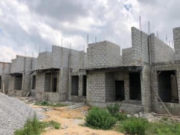 Deluxe 3 Bedrooms Terrace with Bq (semi Finished / Carcass), Apdc Capital Estate, After Arab Junction, Along Kubwa Expressway, Kaba, Abuja, Terraced Duplex for Sale