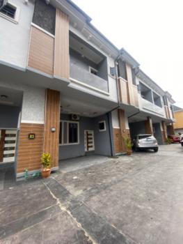 Luxury Serviced 4 Bedroom Terrace Duplex with Fitted Kitchen All Ensuit, Chevron Alternative, Chevron, Lekki, Lagos, Terraced Duplex for Rent