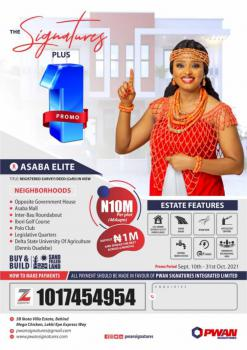 Buy a Plot of Land, Signatures Elite, Anwai Road, Asaba, Delta, Mixed-use Land for Sale