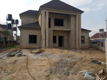 Solid 5 Bedroom Duplex & Bq Carcass, River Park Estate, Cluster 1, Airport Road,, Lugbe District, Abuja, Detached Duplex for Sale